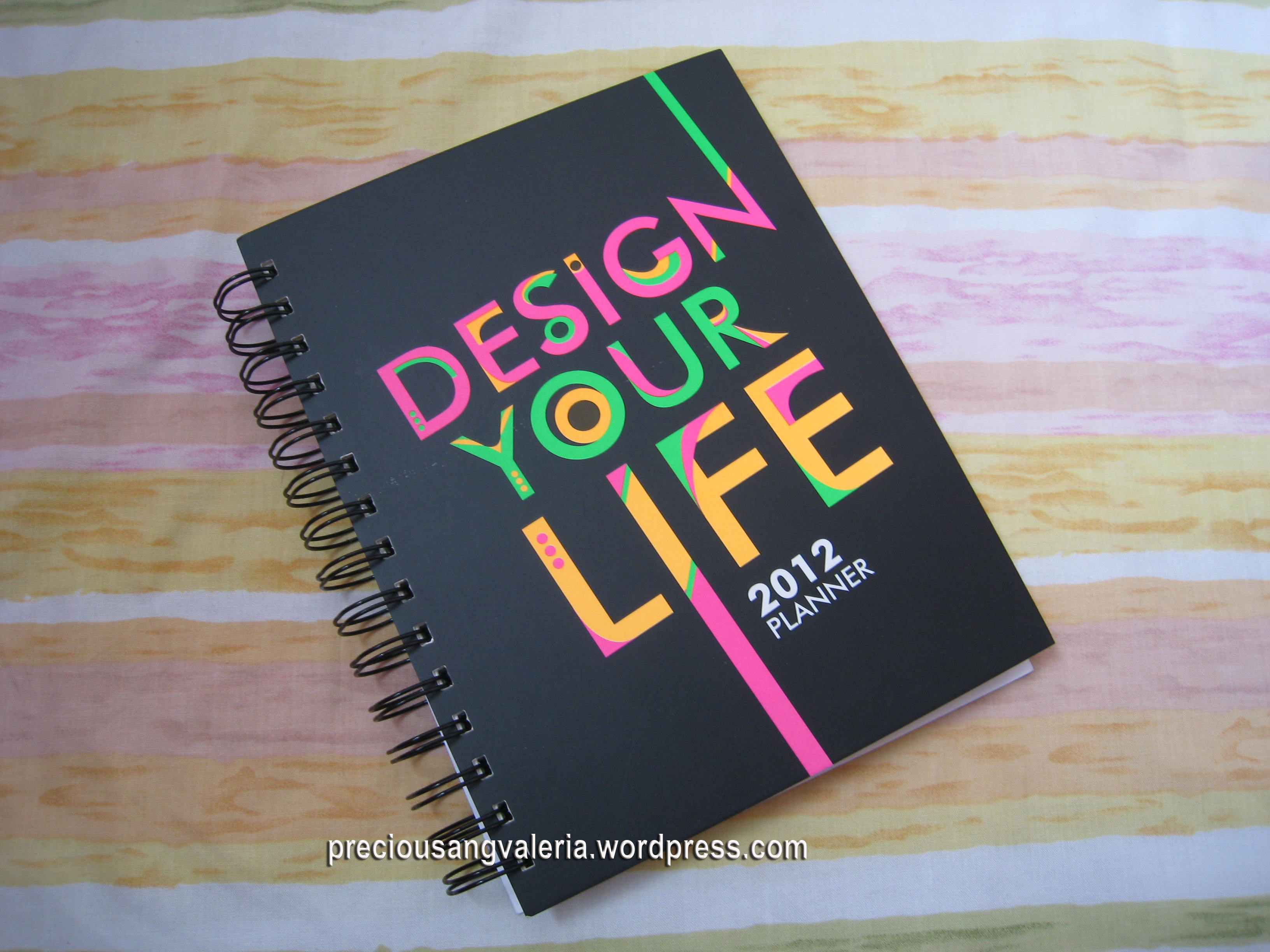 Design your life planner preciousang valeria for Planner design